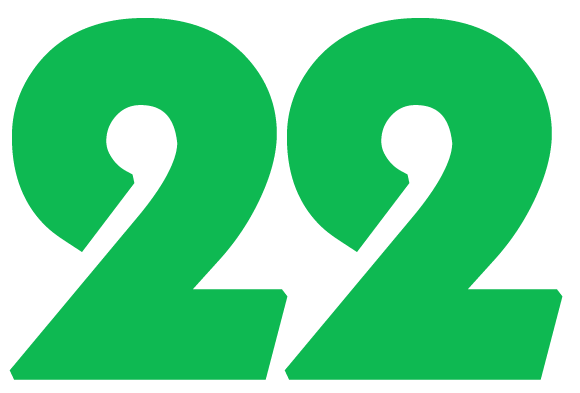 The 22 is the master builder and potentially the most successfull all numbers in numerology
