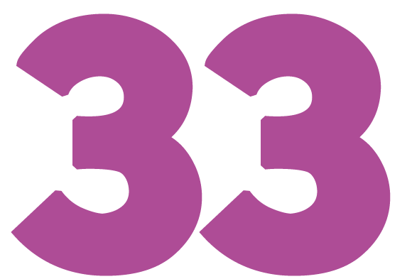 The 33 is the master teacher in numerology, and the most holy of all numbers
