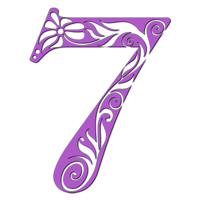 Numerology meaning of 7: You enjoy mental and physical puzzles - figuring them out, taking them apart, and putting them back together.