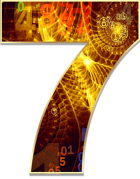 The 7 is the most spiritual of all numbers in your numerology chart, but it is also unconventional
