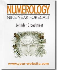 Nine Year Numerology Forecast; The most extensive forecast available; 9 years, 108 months, in detail