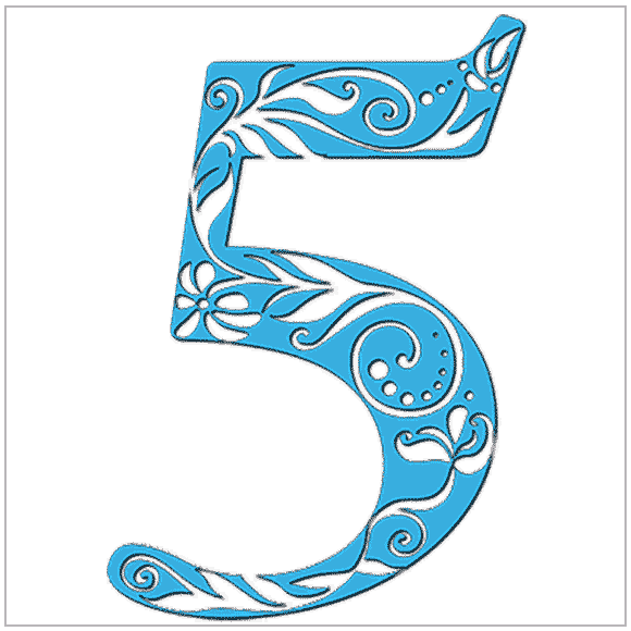 Numerology meaning of the number 5: You love change, adventure, and excitement. You love your freedom.