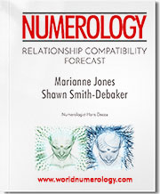 The Relationship Compatibility Numerology Forecast examines the cycles to help you keep your relationship harmonious.
