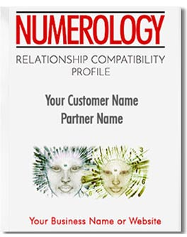 Relationship Numerology Profile; compares your five core numbers with that of your partner or friend.