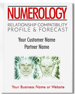 Relationship Compatibility Numerology Profile and Forecast; he most comprehensive relationship analysis anywhere