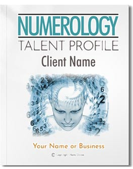 Numerology Talent Profile; Advise on career and business; examines 74 traits and 39 vocations based on your chart