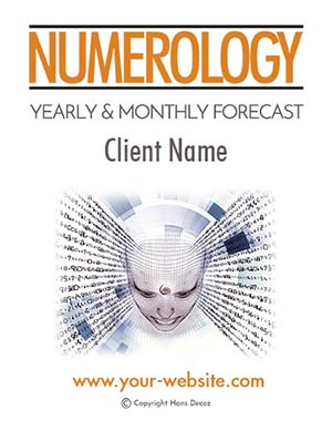 Yearly Numerology Forecast; Includes yearly cycles for 2 years and the next 12 months month-by-month