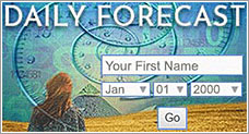 Daily Numerology Forecast for Sun Number 1, with numerologist Hans Decoz