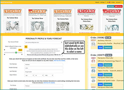 Online numerology software by Decoz - sign up on worldnumerology dot com