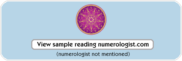 Our competitors numerology reading can be viewed here or downloaded