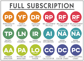 Full subscriptions to the World Numerology app are half off after the first year.