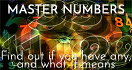 Numerology recognizes three Master Numbers, 11, 22, and 33; they are called Master numbers because they have more potential, but also because they are hard to master.