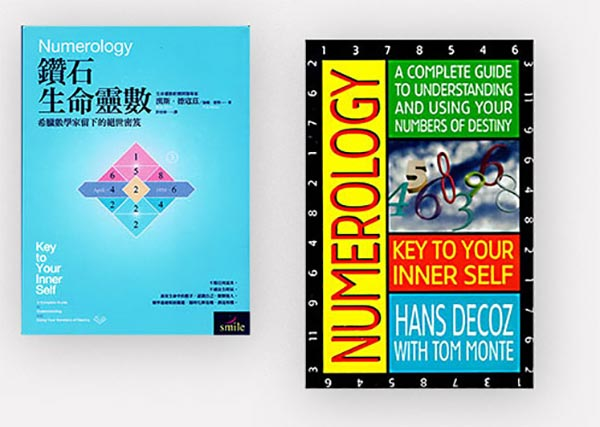 The book Numerology; Key To Your Inner Self, by Hans Decoz, is now available in Mandarin