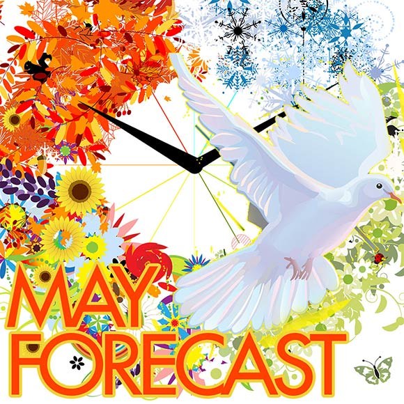 Numerology Forecast for Sun Number 5 for May 2021
