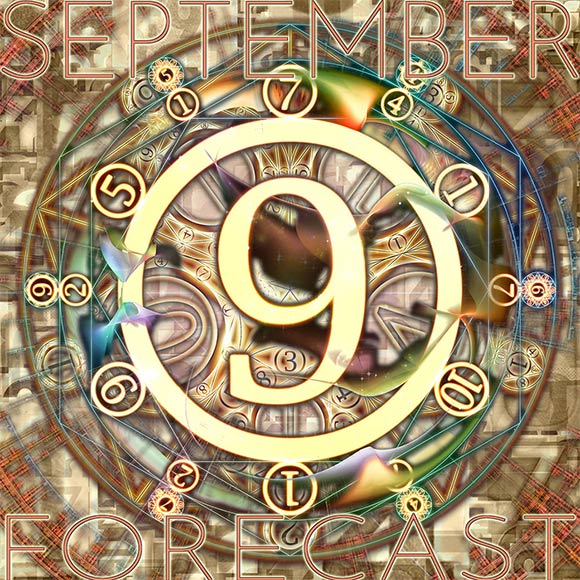 Numerology Forecast for Sun Number 4 for September 2019