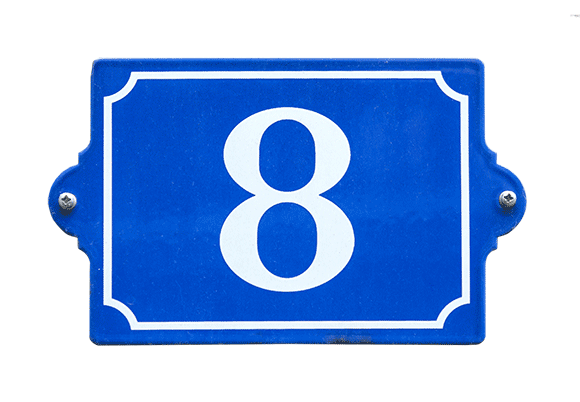 Numerology analyzes house numbers to show which house numbers work in your favor - you can have your address analyzed using the World Numerology App