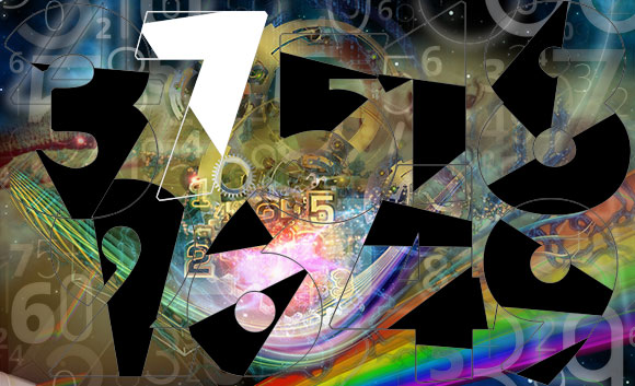 Numerology meaning of the 7; the seeker and the searcher - the 7 is the most spiritual of all numbers