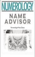 Numerology Report; The Name Advisor