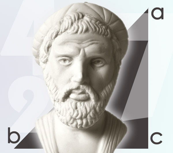 Pythagoras, The Father of Western Numerology is most often associated with the theorem in his name