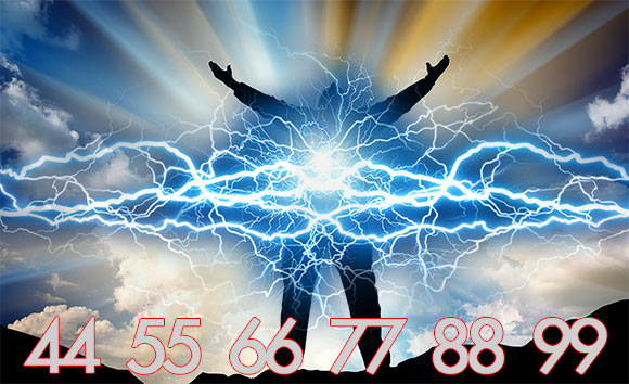 Numerology's Power Numbers are 44, 55, 66, 77, 88, and 99