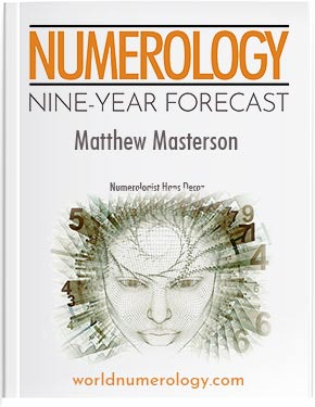 9-Year Numerology Forecast, includes monthly numerology predictions.