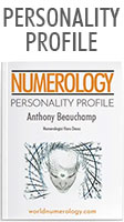 Personal Numerology Report; the Personality Profile