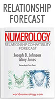 Numerology Report; The Relationship Compatibility Forecast