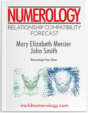 Numerology Relationship Forecast report