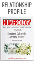 Numerology Report; the Relationship Compatibility Profile