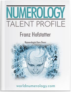 Numerology's Talent Profile looks at 79 traits and 34 vocations