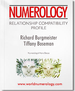 Recently expanded Numerology Relationship report now available as the combined Relationship Profile and Forecast.