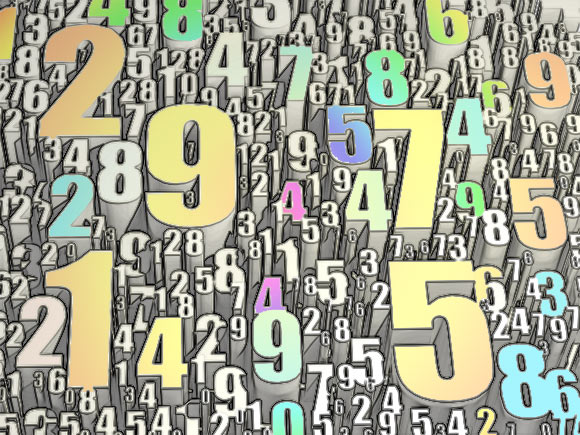 The meaning of numbers in numerology; Master numbers, karmic numbers, sun numbers, and more