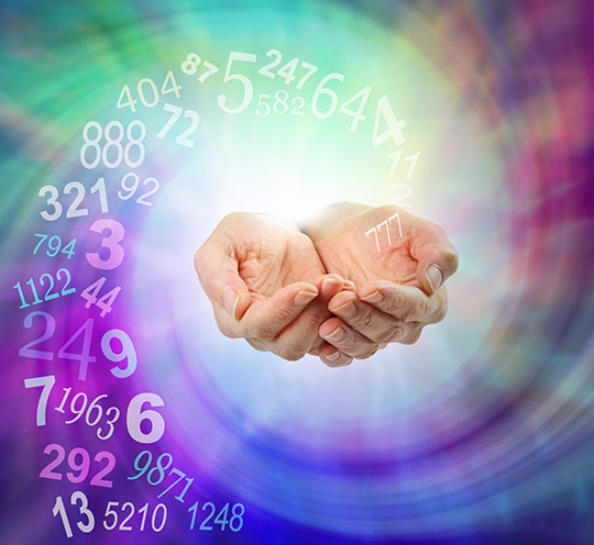 Numerology is based on the accepted concept of synchronity - its a language of symbolism