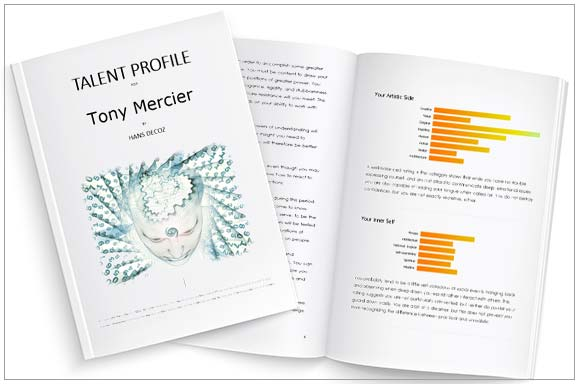 Numerology Report: The Talent Profile, a unique-one-of-a-kind reading.