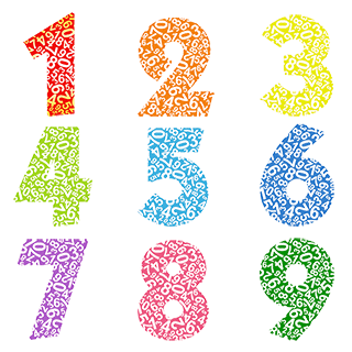 Select any number to move to the numerology meaning of that single digit number